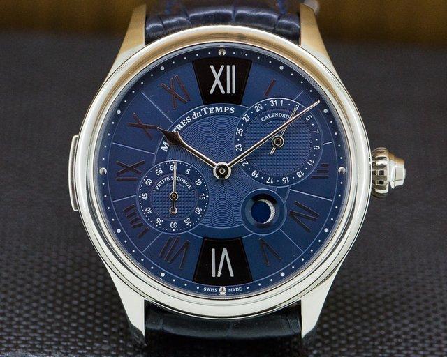 Maitres Du Temps C3R.00.00.1110-C1 Chapter 3 Reveal 18k White Gold Blue Dial