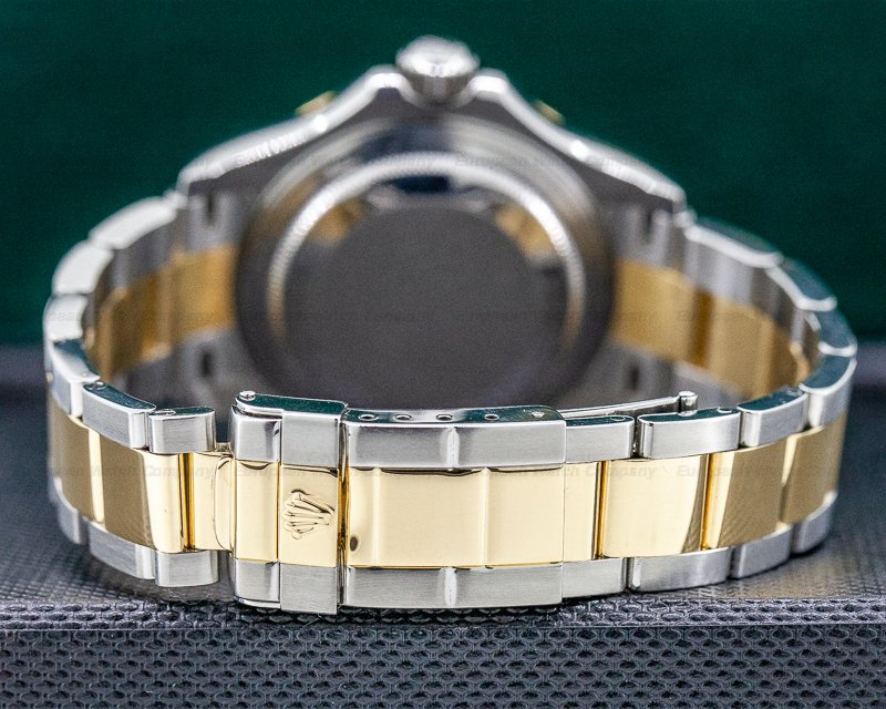 Rolex 16623 Yacht Master Champagne Dial 18K / SS