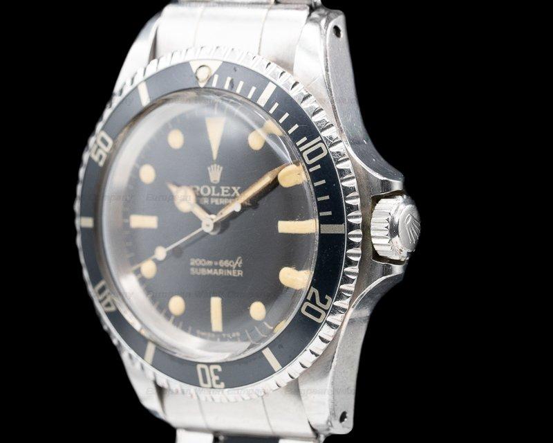 "Rolex 5513 ""Bart Simpson"" Gilt 5513 Submariner ""BART SIMPSON"" + Original Certificate WOW"