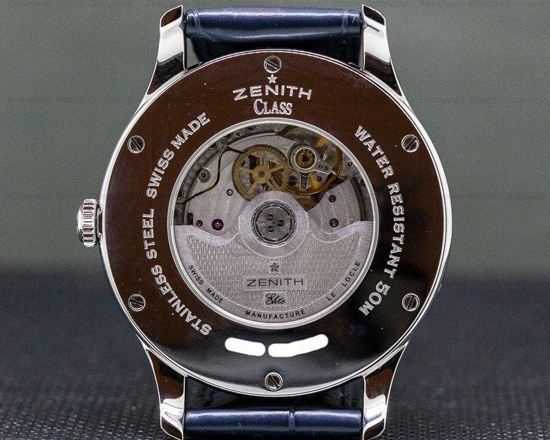 Zenith 03.1125.691/02.C496 Class Moonphase Grande Date SS