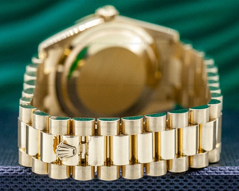 Rolex 118238 Day Date President Champagne Dial 18K Yellow Gold