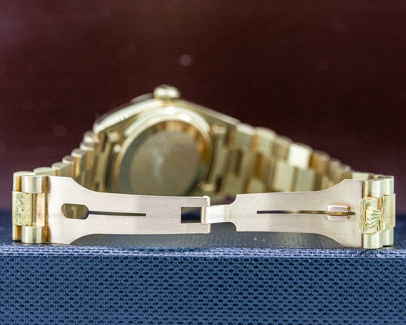 Rolex 18038 Day Date Champagne Dial Yellow Gold