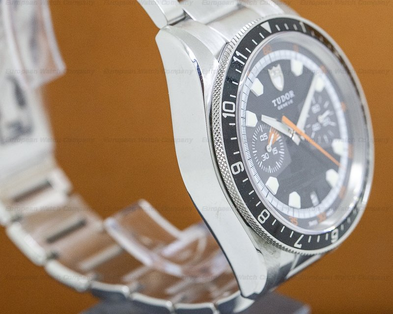 Tudor 70330 Heritage Chronograph Grey Dial SS / SS