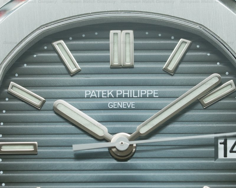 Patek Philippe 5800/1A-001 Nautilus 5800 TIFFANY & CO Steel / Blue Dial RARE