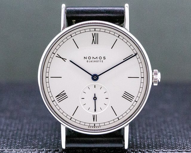 Nomos 205 Ludwig 33mm Manual Wind Display Back