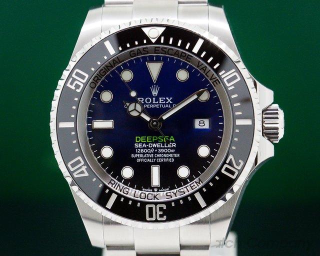 Rolex 126660 Sea Dweller Deep Sea D-Blue NEW 2018 MODEL UNWORN