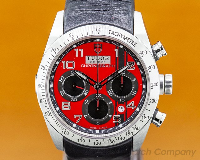 Tudor 42000 Fastrider Ducati Chronograph SS / Leather