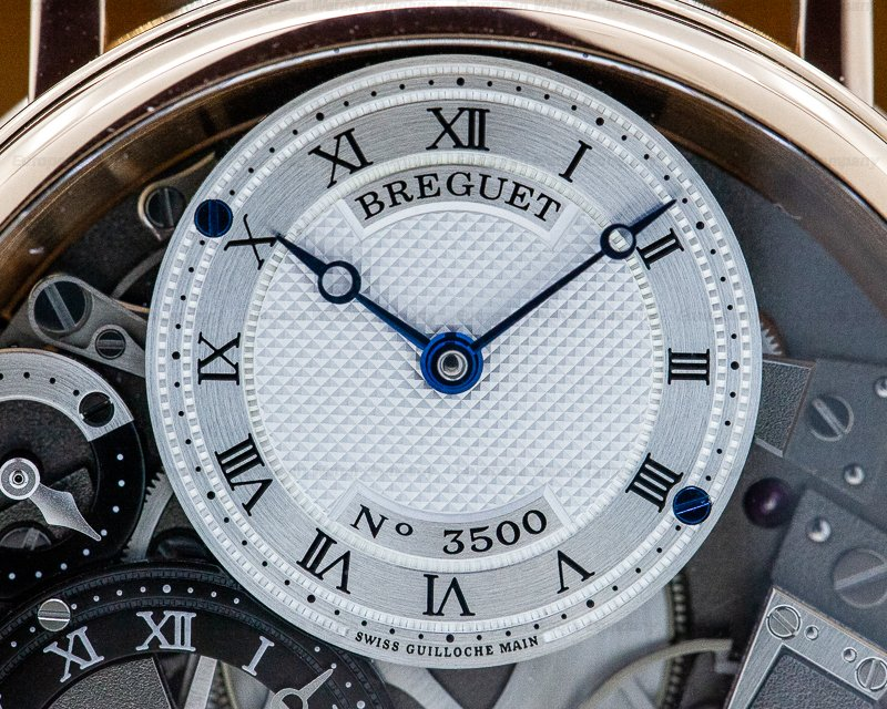 Breguet 7067BR/G1/9W6 Tradition GMT Manual Wind Rose Gold 40MM