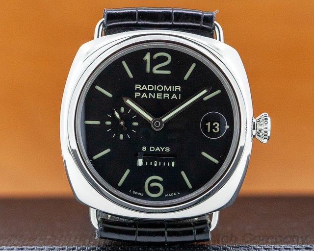 Panerai PAM00268 Radiomir 8 Days Manual Wind SS
