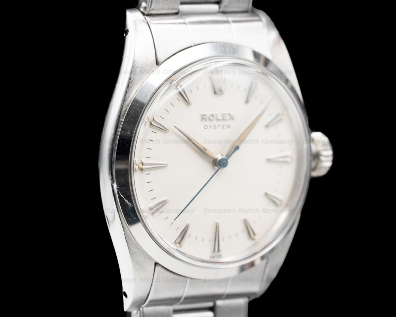 Rolex 6422 Brevet Precision Oyster Manual Wind SS Circa 1950's 35MM