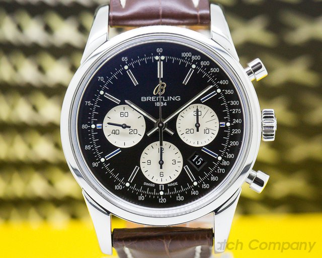 Breitling AB015112/BA59  Transocean Chronograph SS/SS Deployant