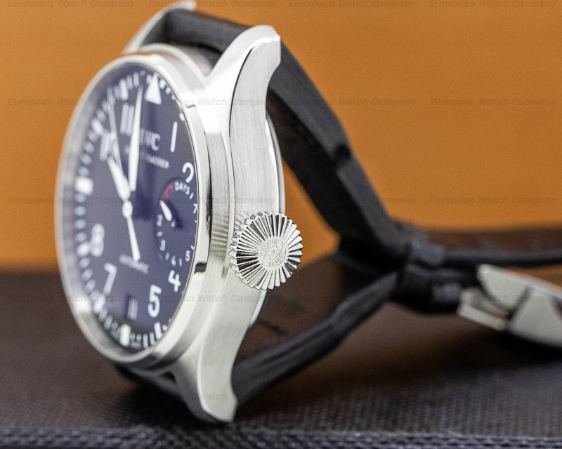IWC IW500901 Big Pilot SS / Alligator