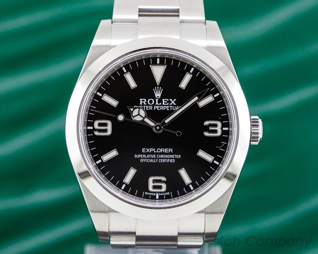 Rolex 214270 Explorer I Black Dial 39MM