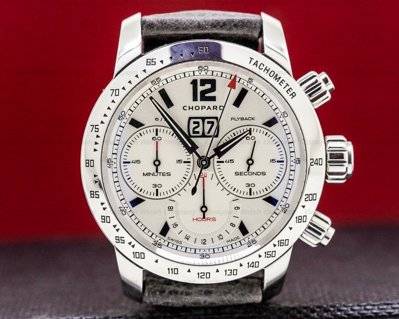 Chopard 168998-3002 Mille Miglia Jacky Ickx Limited Edition Flyback Chronograph SS