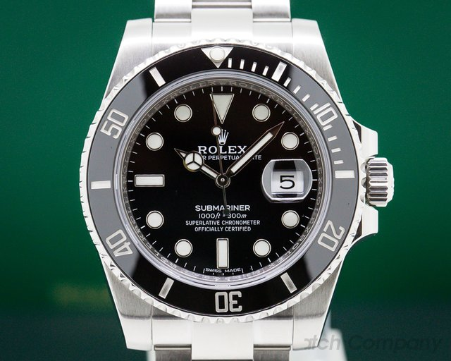 Rolex 116610LN Submariner Ceramic SS / SS