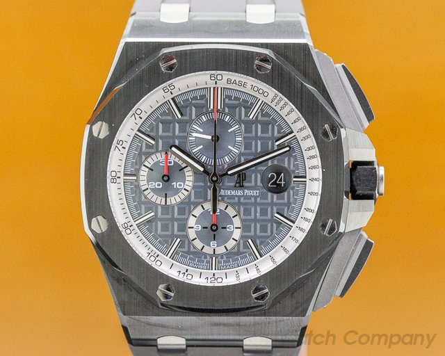Audemars Piguet 26405CE.OO.A002CA.01 Royal Oak Offshore Chronograph Grey Dial / Black Ceramic