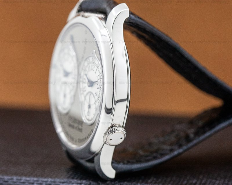 F. P. Journe Chronometre Resonance Platinum Silver Dial 40MM