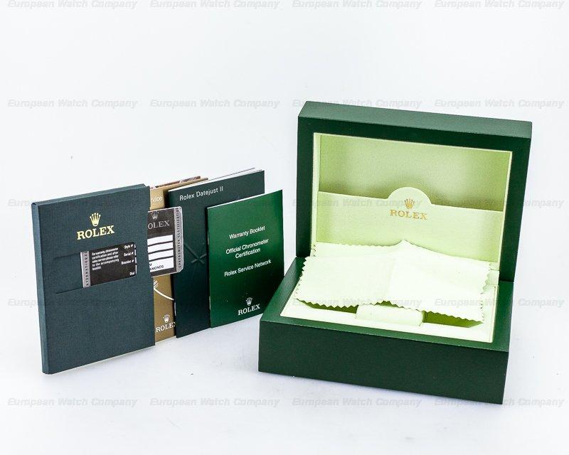 Rolex 116334 Datejust II SS Grey Diamond Dial