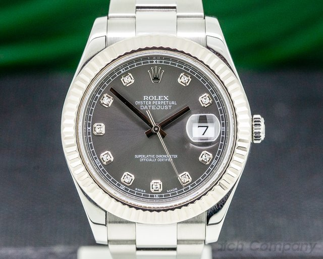 Rolex 116334 Datejust II SS Grey