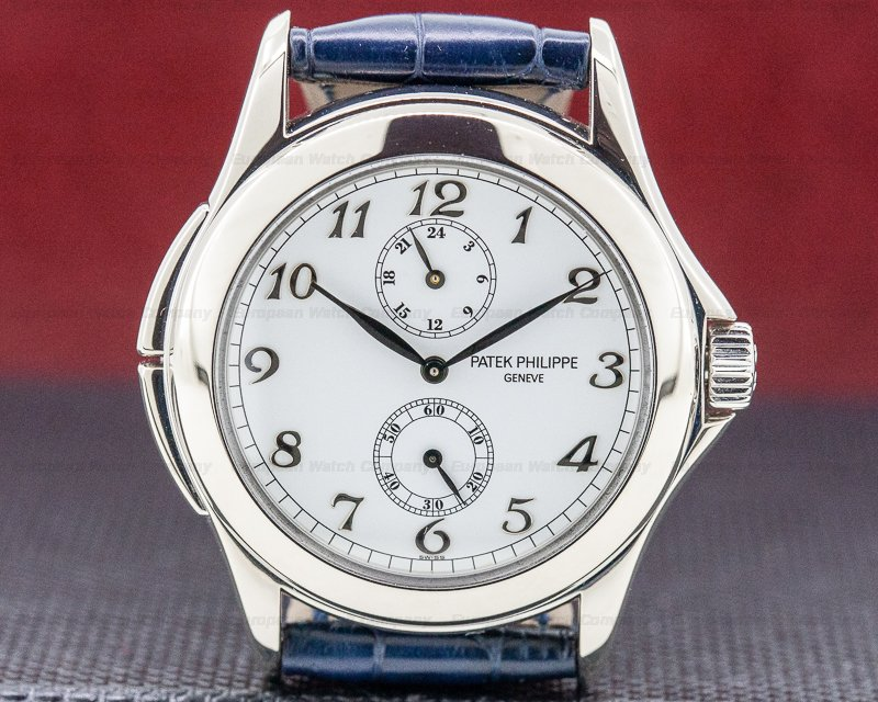 Patek Philippe 5134G-001 Travel Time 18K White Gold / Breguet Numerals