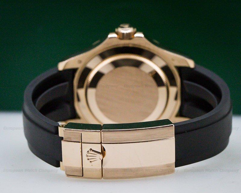 Rolex 116655 Yacht Master 18K Rose Gold / Rubber