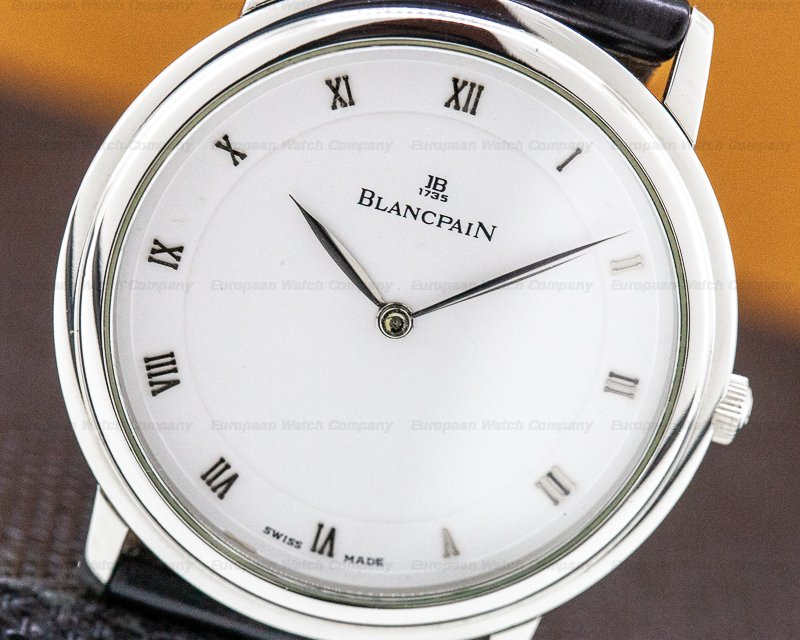 Blancpain 0021-1127-55 Ultra Thin Manual Steel