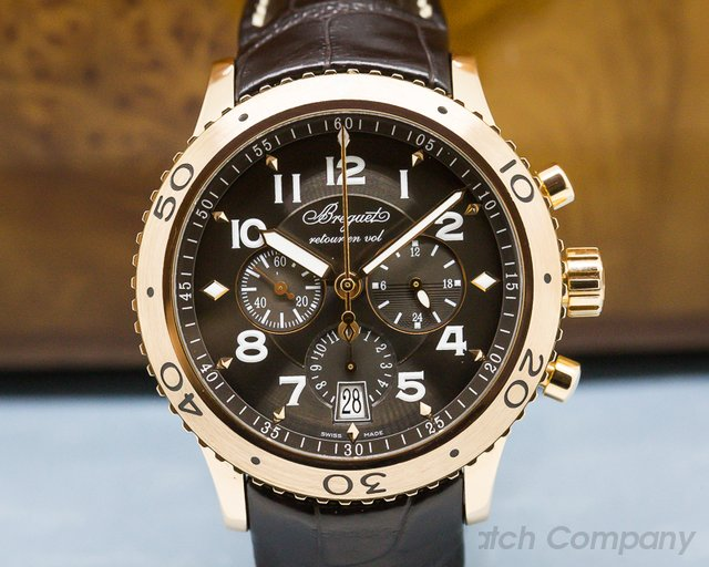 Breguet 3810BR/92/9ZU Type XXI Flyback 18K Rose Gold