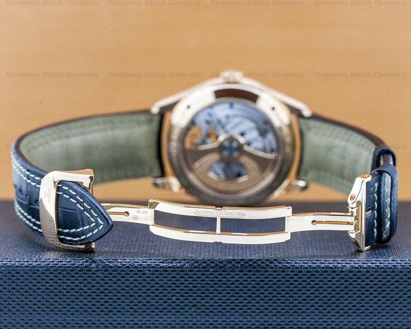 Jaeger LeCoultre Q500242A Master Grande Tradition Tourbillon Quantieme Prepetual 18k Rose