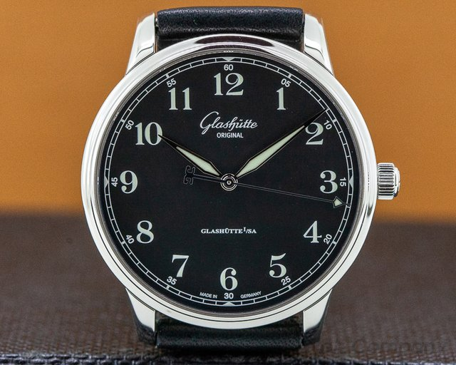 Glashutte Original 36-01-03-02-01 Senator Excellence SS Black Dial