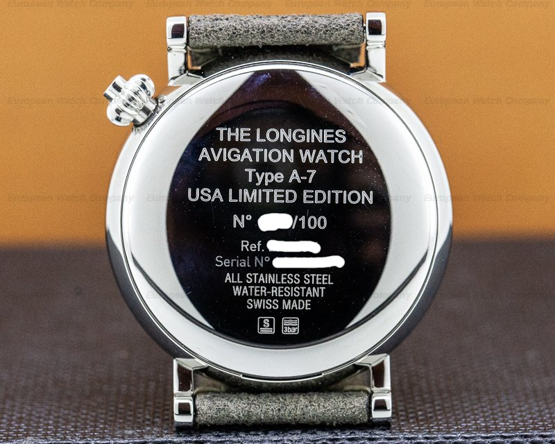 Longines L2.823.4.53.2 Avigation Watch Type A-7 USA Edition UNWORN