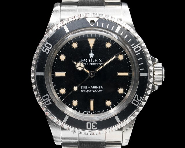 Rolex 5513 Gloss Dial Submariner c. 1988 COMPLETE SET