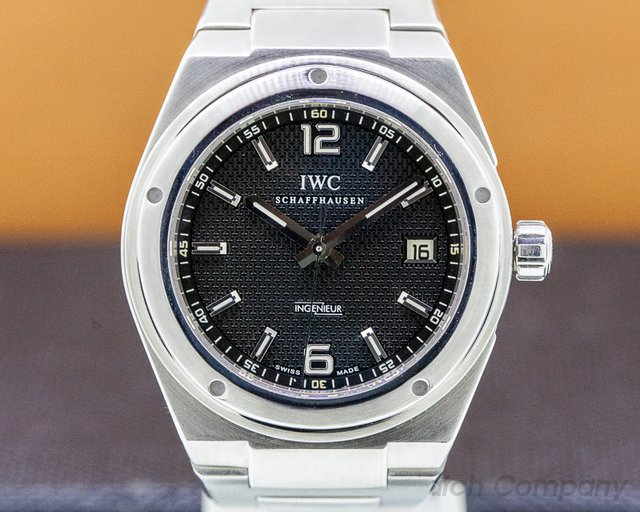 IWC IW322701 Ingenieur Automatic SS Black Dial 42MM