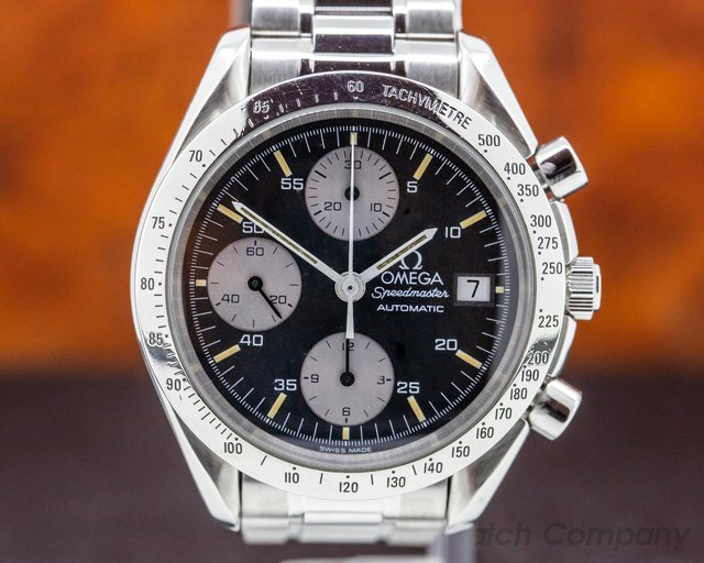 Omega 3510.50 Speedmaster Reduced Black Dial SS PATINA