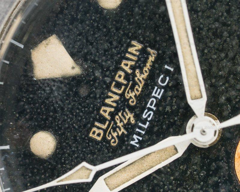 Blancpain Milspec 1 Fifty Fathoms Milspec 1 Radium Circa 1959