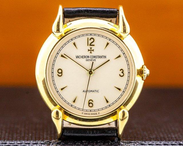 Vacheron Constantin 48003 Les Historique automatic 18K Yellow Gold