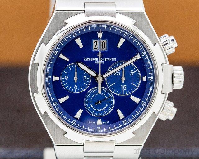 Vacheron Constantin 49150/B01A-9745 Overseas Chronograph Blue Dial SS / SS