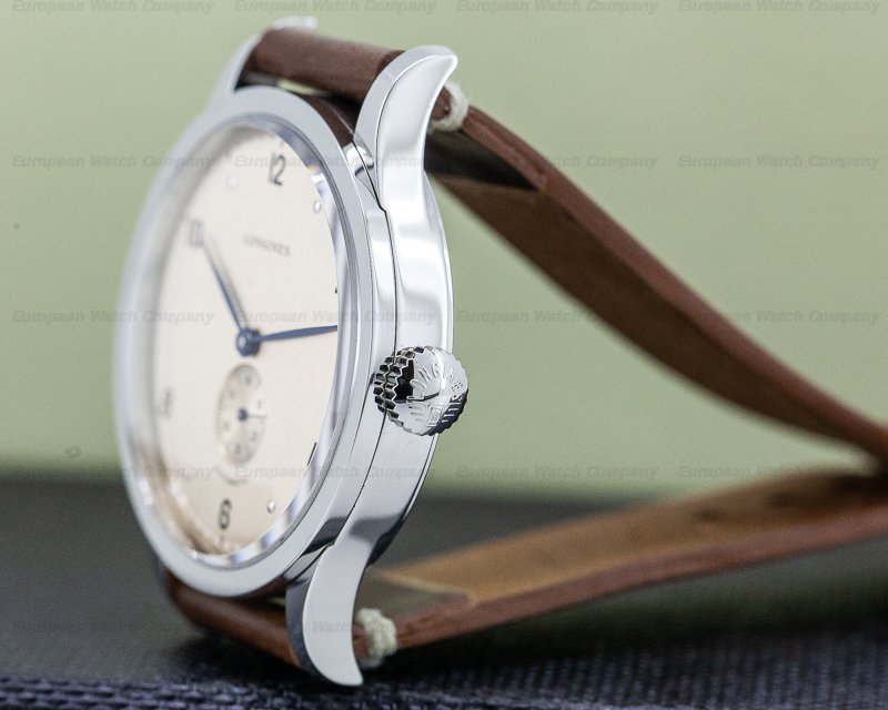 Longines L2.813.4.66.0 Heritage 1945 Copper Dial Automatic SS