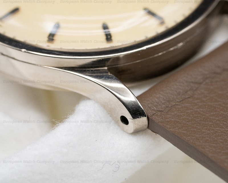 Patek Philippe 570 G Calatrava Manual Wind 18K White Gold GORGEOUS PATINA