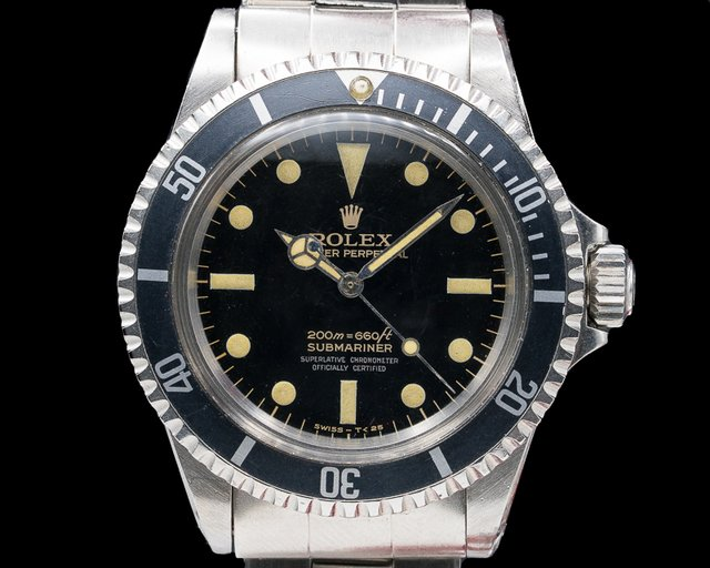Rolex 5512 Submariner 5512 4 Line Gilt FULL GLOSS 1966