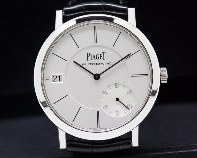 Piaget G0A38130 Altiplano Automatic 40mm 18k White Gold