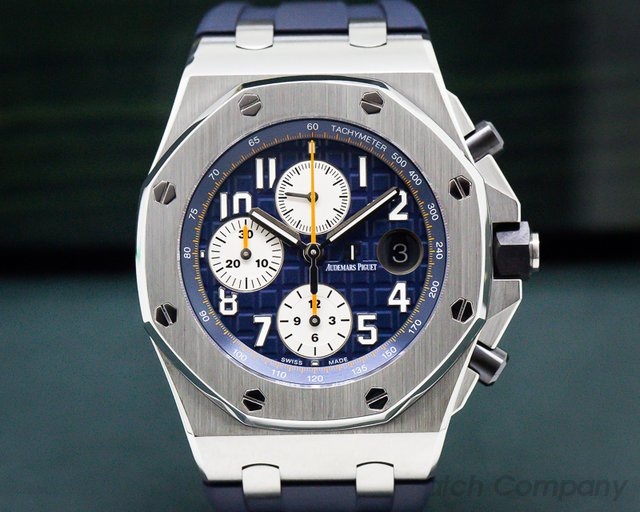 Audemars Piguet 26470ST.OO.A027CA.01 Royal Oak Offshore Blue Dial SS / Rubber
