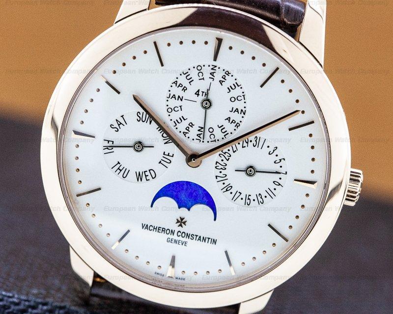 Vacheron Constantin 43175/000R-9687 Patrimony Contemporaine Perpetual Calendar Rose Gold