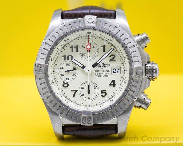 Breitling E13360 Aeromarine Chronograph Super Avenger Titanium