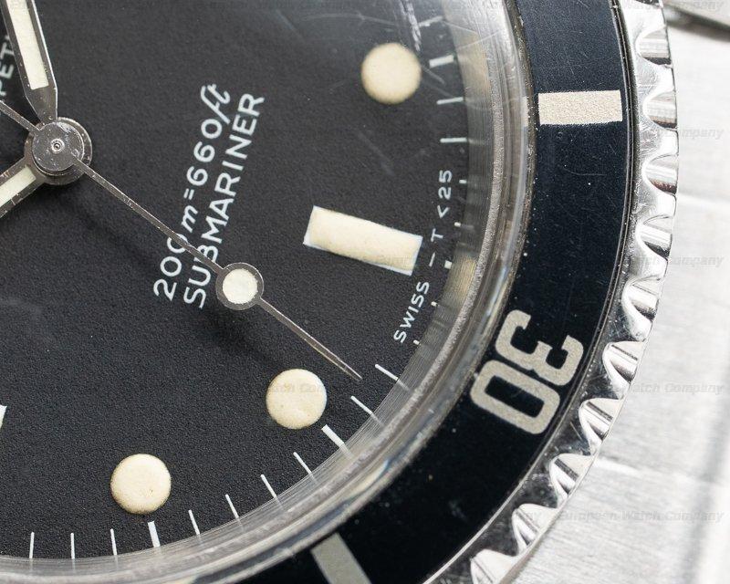 """Rolex 5513 Vintage Submariner 5513 """"Meters First"""" SS Rivet Bracelet c. 1967"""