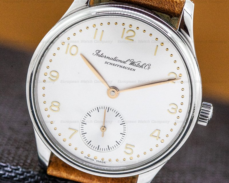IWC 3531003 Portuguese SS / Rose Numerals 35MM