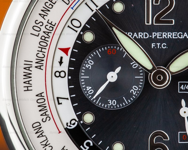 Girard Perregaux 49851 World Time WW.TC Power Reserve Steel Financial Times