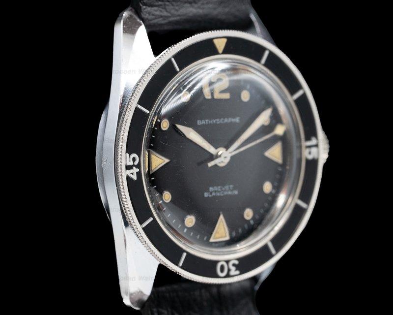 Blancpain MC4 Vintage Aqualung Bathyscaphe Circa 1960