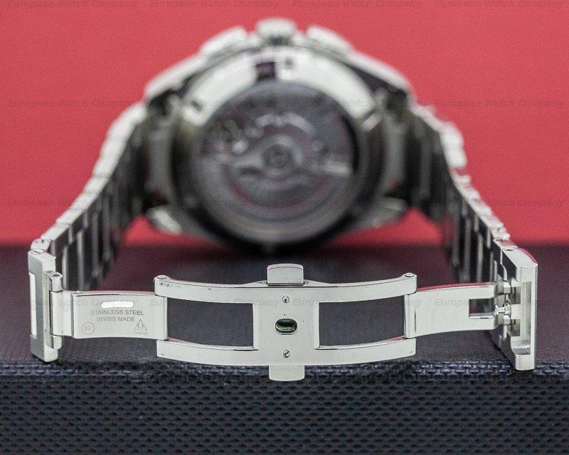 Omega 231.10.43.52.06.001 Seamaster Aqua Terra GMT Chronograph SS Grey Dial
