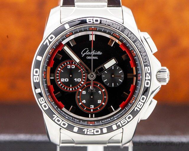Glashutte Original 39-31-73-73-14 Sport Evolution Impact Chronograph 46MM