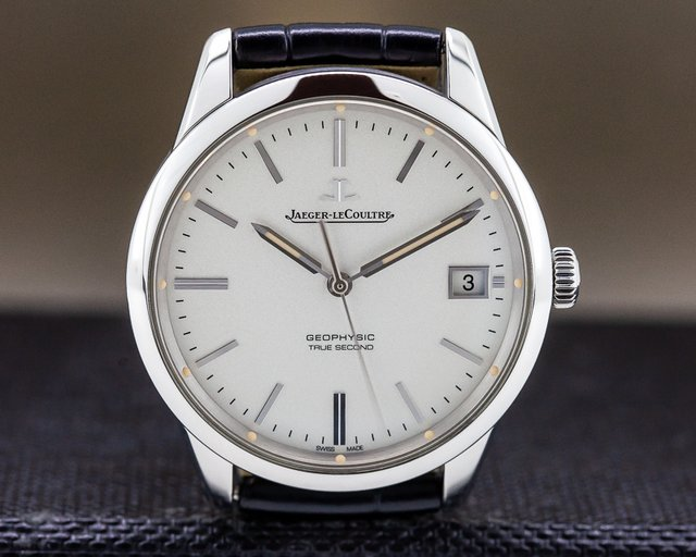 Jaeger LeCoultre Q8018420 Geophysic True Second SS